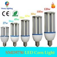 E40 garden yard street light LED corn light CE RoHS LED corn cob lamp green & eco-friendlty