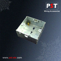 Electric 3x3 Galvanized Junction Box