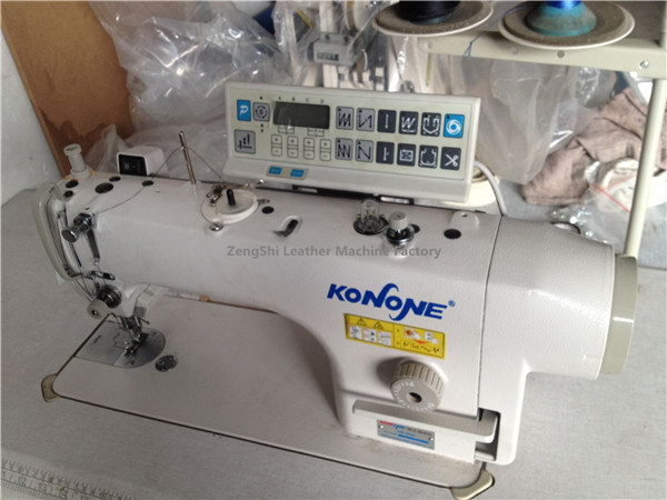 Super quality promotional golden wheel sewing machine