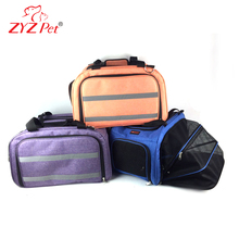 Washable fold-able pet carrier Dog Travel Carry Bag Custom logo