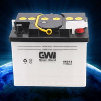 Car battery of wholesale 12v dry charged car battery DIN63ah-562318 automotive battery