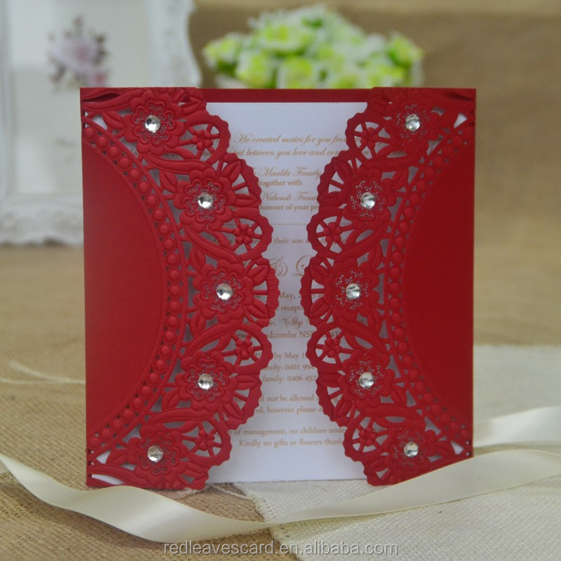 2016 Best price colorful printing banquet invitation card accpetable customize