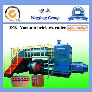 Clay brick production line hot selling in Turkmenistan!! Yingfeng JZK50 automatic brick production line