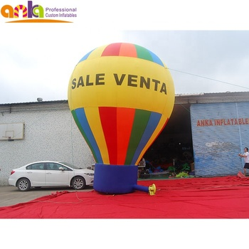 Advertising inflatable hot air balloon decoration for event