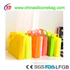 Waterproof Fashion Silicone Ladies Shoulder Bags, Silicone Smile Bags