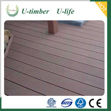 Hot sale product wood and plastic composite wpc decking