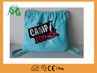 folding beach bag and towel set
