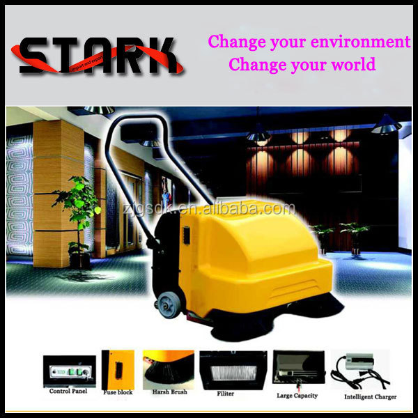 Hot sale floor sweeper cleaning machine used street sweeper brushes for sale