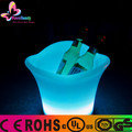 2015 Party used Color Changing LED Light illuminated plastic Ice Bucket for beer bottles