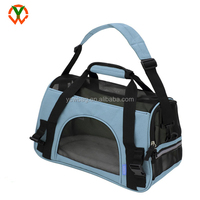 China Factory OEM Airline Approved Dog pet carrier cat travel bag