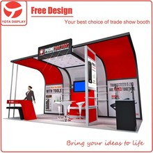 Yota offer Phone Doctors, 20x10 customized modern exhibition stall design