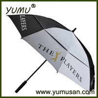 "30"" Golf Umbrella Double Canopy, Race Car Umbrella"