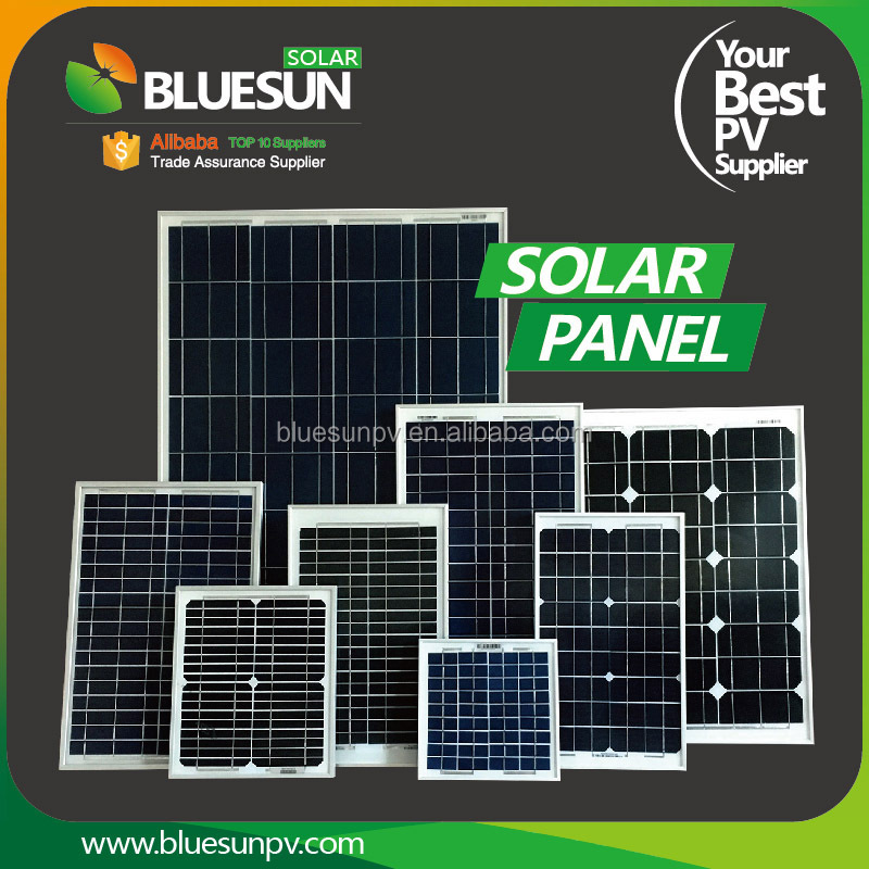 Bluesun high efficiency mono small solar panels 10w 15w for toys