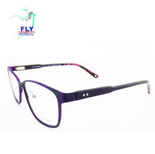 Wenzhou eyeglasses with colorful prints eye glass frames design optics eyewear 2018