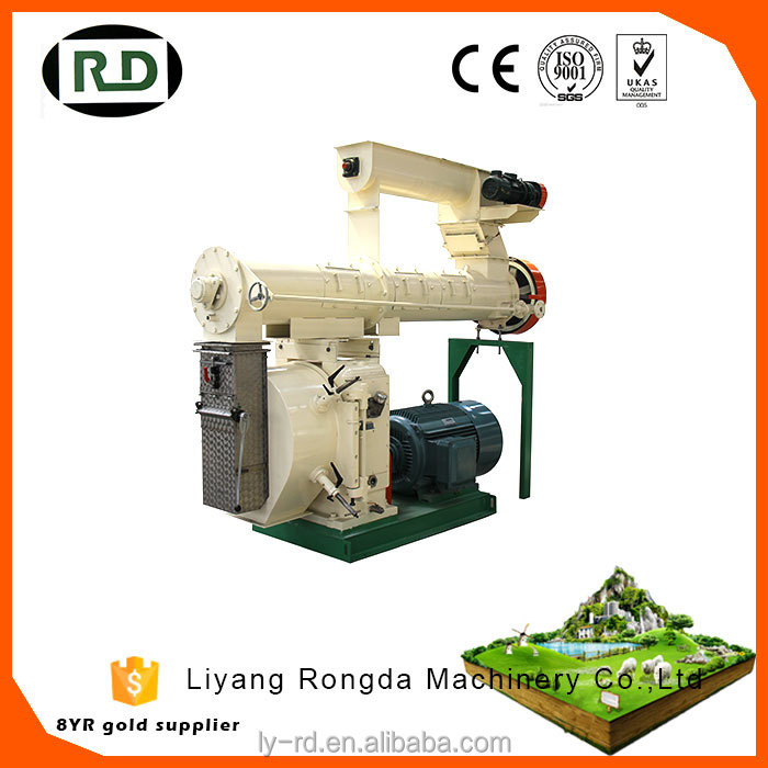 Hot sale!Farm equipment 1-30t/h chicken feed machine poultry feed pellet press mill