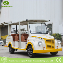 available color small environmental tour electric classic car with CE for tourist