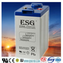 2v500AH/ SEALED LEAD ACID BATTERY /dry charge/solar panel