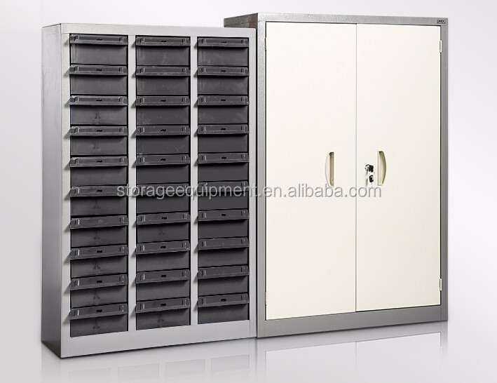 2017 NEW DESIGN 75 Drawers parts cabinet&small parts Storage cabinet with plastic box