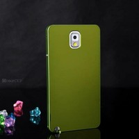 Aluminum metallic hard case for samsung galaxy note 3 phone cover
