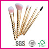 beautiful honey comb handle makeup brush and cosmetic High quantity.