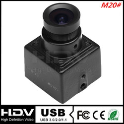 20*20mm 1.0MP, 3.6mm Board Lens 0.1Lux 30fps UVC MINI USB Camera for ATM and Kiosk (HDV-USB100MP20L3.6)