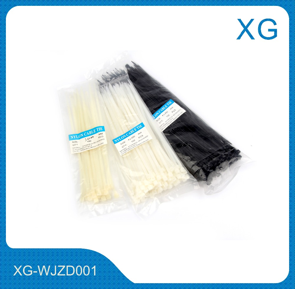 Cheap Price Nylon Cable Ties All Standard Size/Bag Self Locking Nylon Cable Tie