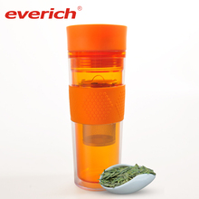 Hot Selling Custom Eco Friendly Portable Water Filter Bottle Tea Infuser Travel Water Bottle