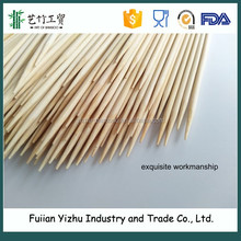 Small Dried Round BBQ Natural Thin Bamboo Stick