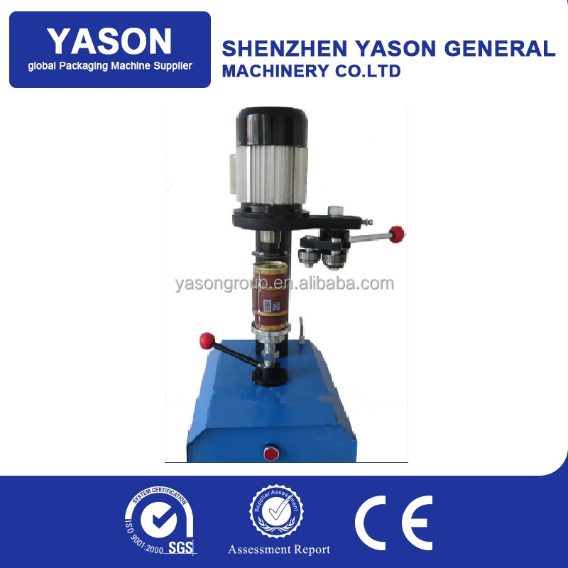 Brand New Manual Tin Can Capping Machine Sealer Machine Price For 40-130mm Cap