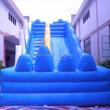 inflatable water slide castle