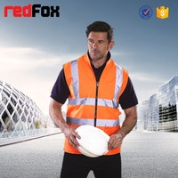 HV008P High Visibility Padded Mens Vest