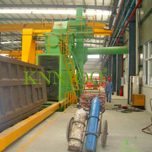 Automatic Vertical Steel Plate Shot Blast Machine/Shot Blasting Equipment