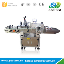 Professional Machinery Manufacturer China Automatic mineral water wrap round bottle label machine CE