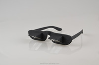 Prism glasses horizontal glasses for lying reading and watching TV