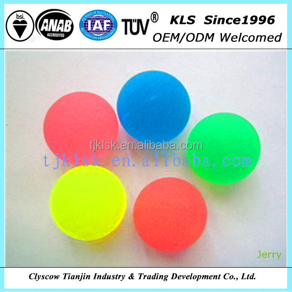 rubber colourful jumping bouncing ball
