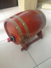 Hot-sale wooden15l stainless steel beer kegs for sale