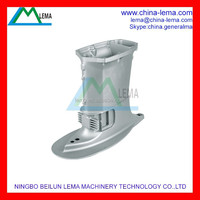 Professional OEM aluminum die cast, T40 outboard engine water device shell die cast parts