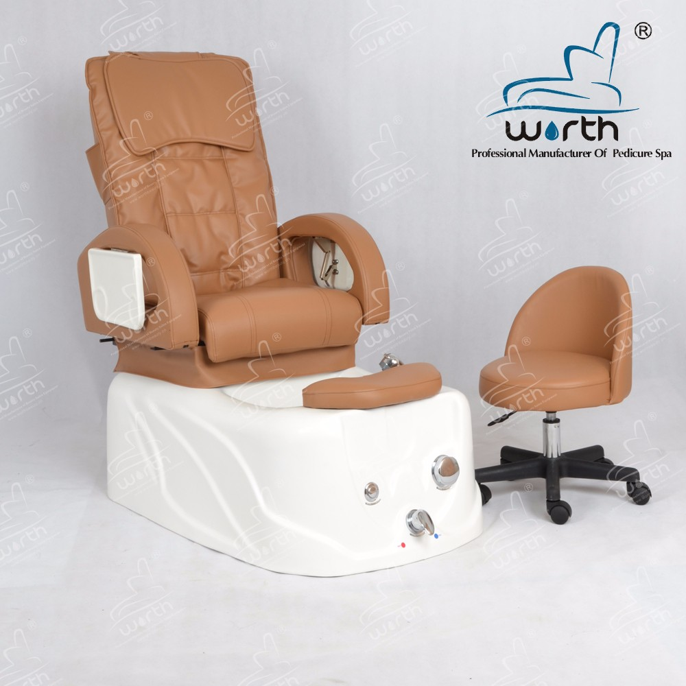 Beauty nail salon furniture pedicure manicure foot spa chair with aremrest tray