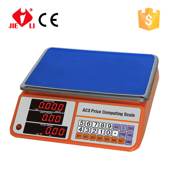 <strong>Scales</strong> Manufacture 30 KG Digital Price <strong>Scale</strong> with Larger Display