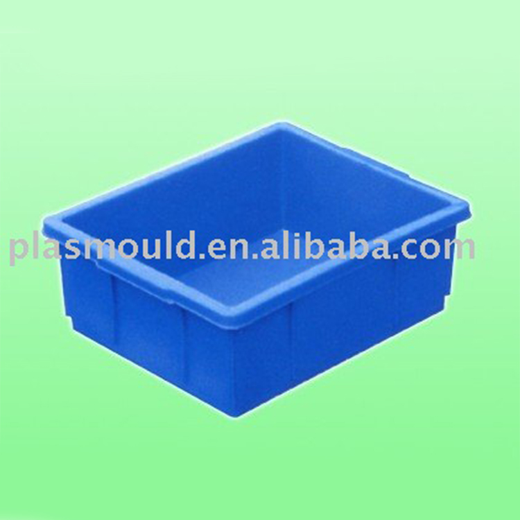 equipment parts plastic mold plastic turnover box mould, crate mould