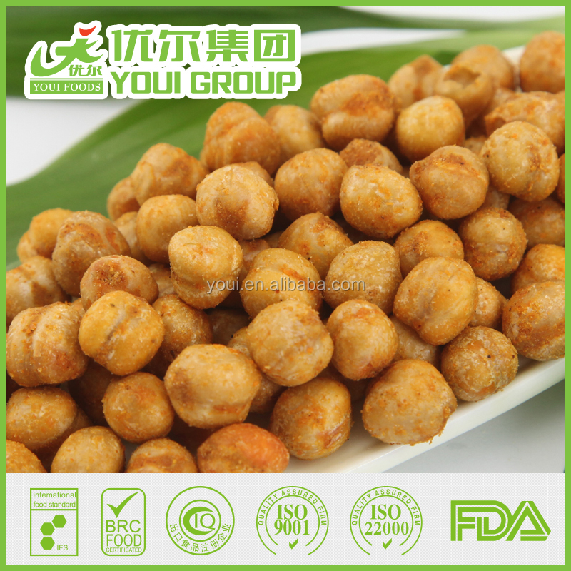 Wholesale Healthy Snack Spicy Chickpeas With BRC
