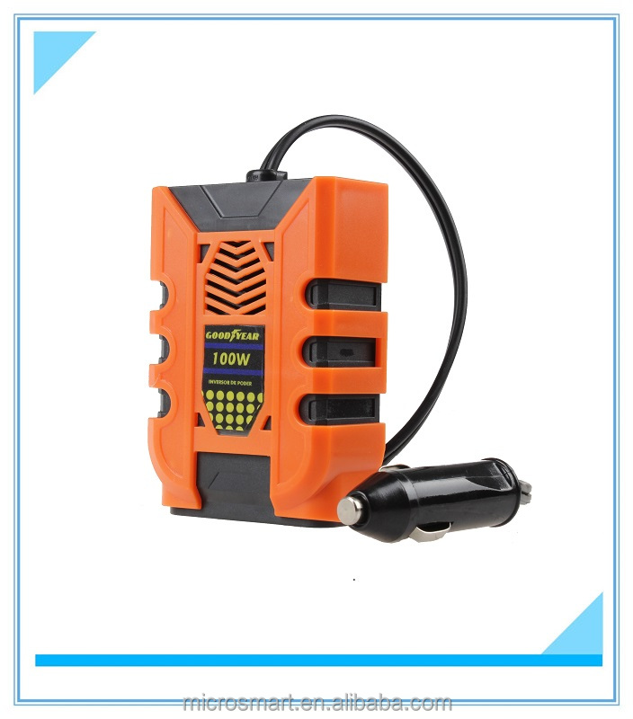 new and popular 12v to 220v 100watt car power inverters on sales