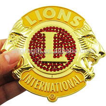 Cheap price free sample metal car badge
