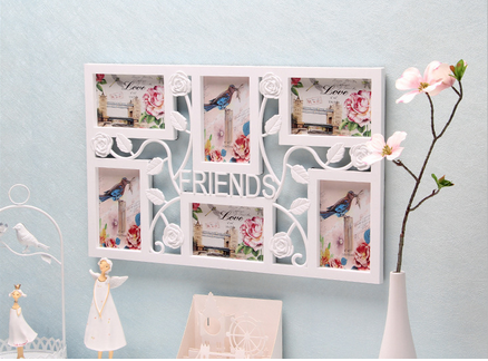 2016 wholesale korea design photo frame with writing