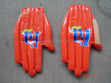 pvc inflatable hand for promotion / inflatable cheering hand for advertising