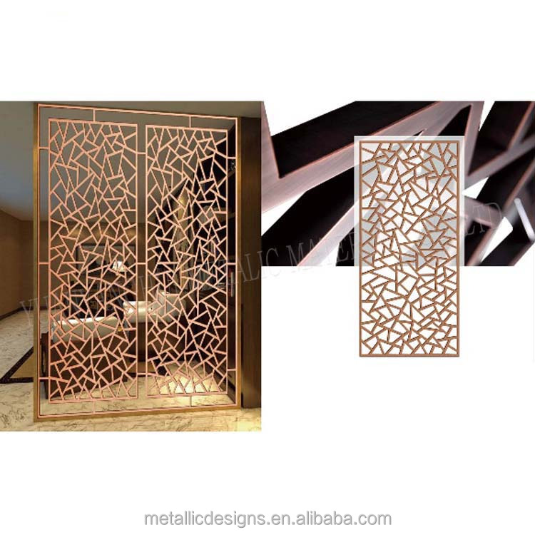 stainless steel screen 3D room divider with best quality and low price