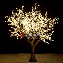 DMX512 Wholesale Popular outdoor wedding decoration led cherry blossom tree light