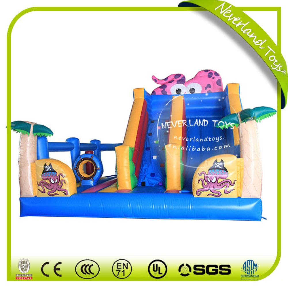 2016 Fun Pink Inflatable Octopus Slide for sale