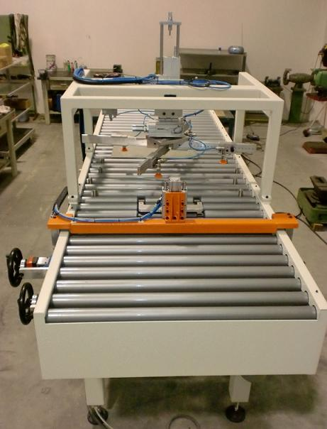 Coil destacker stacking machine