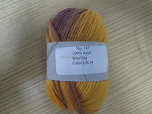 Hot sale 100% wool bulky weight yarn for sweaters